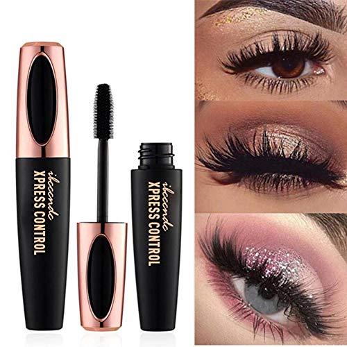JERALD GATES 4D Silk Fiber Lash Mascara Wasserdicht Für Wimpernverlängerung Schwarz Dick Wimpernverlängerung Korean Cosmetics Eye Makeup Long Lasting