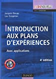 Image de Introduction aux plans d'expériences : Avec applications