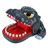 Dinosaurio Mordedura de dentista Juguete Dedo Gracioso Difícil Juguete Mesa Juego Interactivo Niños Familia Juguetes Favor de fiesta Regalo de Navidad de cumpleaños