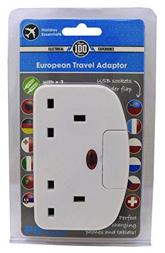 pifco-tvl1018ge-europea-da-viaggio-adattatore-doppia-presa-a-muro-con-2-caricabatterie-usb-bianco