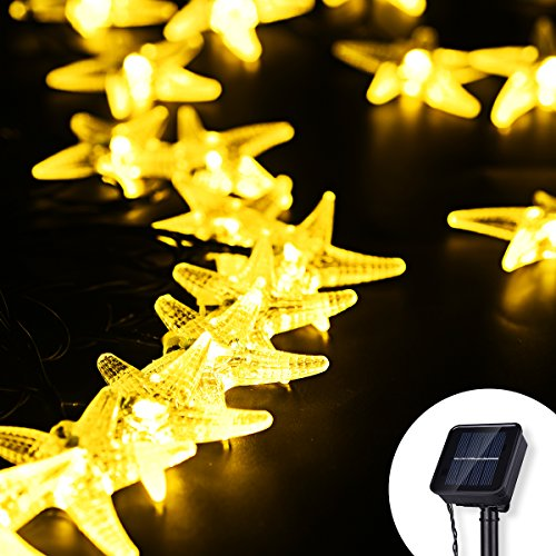VicTsing Solar Lights Garden Solar Fairy Lights, VicTsing® 15.7ft 20 LED Outdoor Solar String Lights Waterproof Decorative Light with 8 Lighting Modes For Outdoor, Garden, Home, Patio, Lawn, Party and Holiday