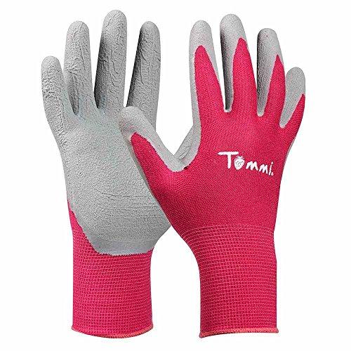 Tommi 779907 Handschuh Himbeere Größe M, Rosa Handwerker-handschuh