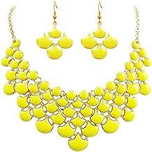 Modeschmuck ketten gelb