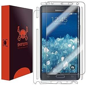 Skinomi® TechSkin - protection d'écran pour Samsung Galaxy Note Edge - Protection d'écran avant et arrière (lot de 2)