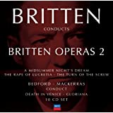 Britten conducts Britten: Opera Vol.2 (10 CDs)