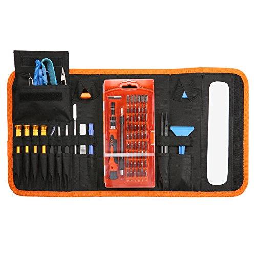 Preisvergleich Produktbild 86PCS Schraubendreher Set, GOCHANGE 60 Bits Magnetische Schraubendrehersatz Werkzeugset, Reparatur für Handy, Tablet, PC, Notebooks, Uhr Brillen, etc