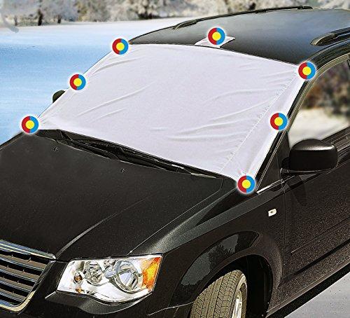 Preisvergleich Produktbild Magnetische Scheibenabdeckung - Anti Frost inkl. Tasche