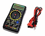 Digital Multimeter Messgerät 10A hFe °C °F OHM A V AC DC