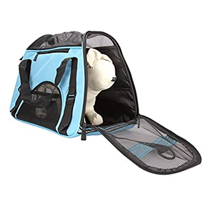 Dromedary Portable Pet Carrier Airline Approved Travel Crate Tote Puppy Handbag For Pet Dog Cat 4