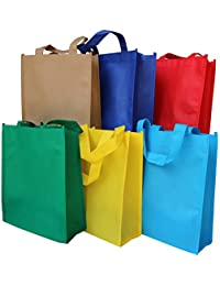 AxeSickle (6 Color X 1) Non-woven Party Games Gift Tote Bags,Reusable Kids Carrying Shopping Grocery Tote Bag...