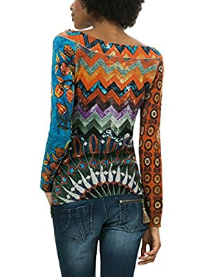 Desigual Women's Jers_Stay with Me Jumper