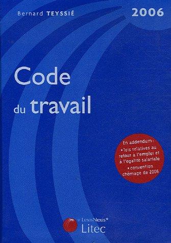 Code du travail 2006 (ancienne édition)