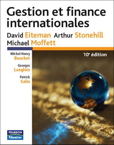 Gestion et finance internationales
