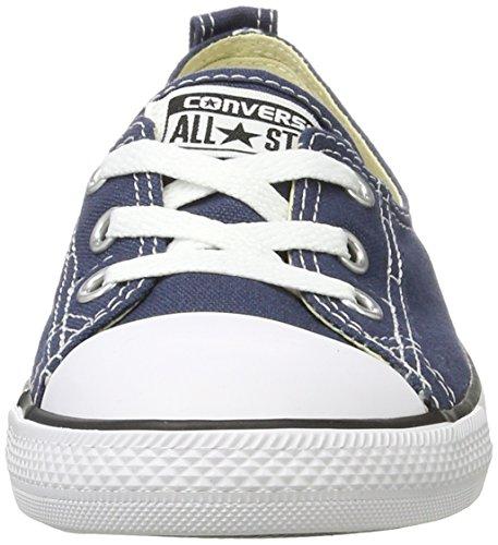 Converse Unisex-Erwachsene All Star Ballet Lace Sneaker, Blau (Navy), 39 EU - 4