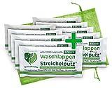 Waschlappen Streichelputz Set 10x 8 Stück