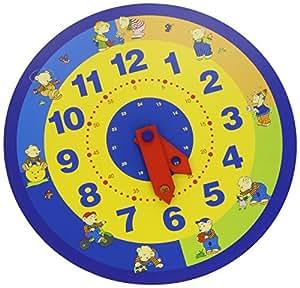 Goki - 2041822 - Ameublement Et Décoration - Horloge Apprentissage Ours