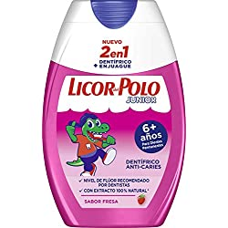 Licor del Polo Junior - Lote de Cepillo de Dientes + 1 Pasta ...