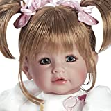 """Adora Toddler Doll 20"""" Lifelike Realistic Weighted Doll Gift Set for Children 6+ Huggable Vinyl Cuddly Soft Body Toy Happy Birthday, Baby"""