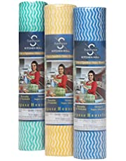 GINNI 6 Non Woven Fabric Roll Kitchen Swipe Rolls 50 Sheets