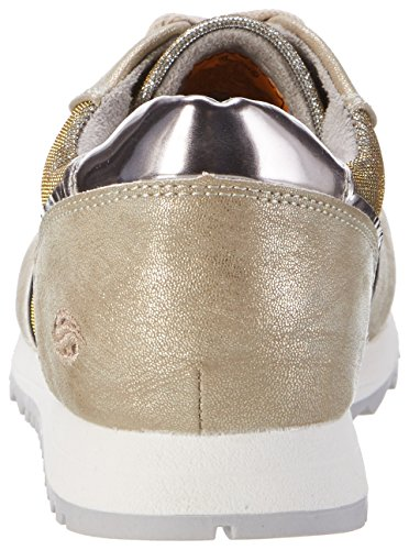 Dockers by Gerli 38ml202-687920, Scarpe da Ginnastica Basse Donna Oro (Gold 920)