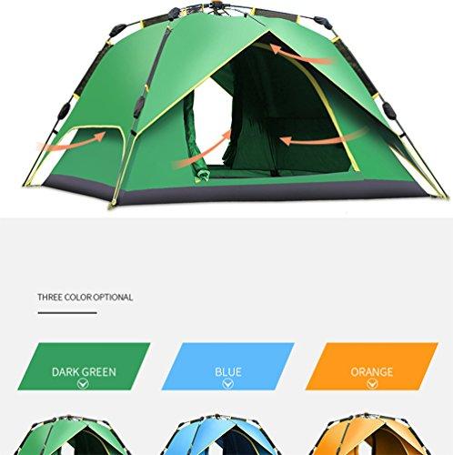 tent Outdoor Camping Automatisches Zelt,Orange