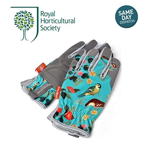 rhs-burgon-ball-flora-fauna-pair-of-ladies-gardening-gloves-machine-washable-one-size