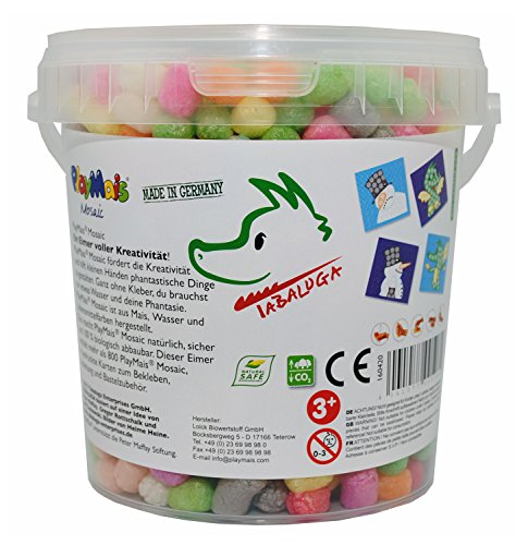 Preisvergleich Produktbild PlayMais 160420 - PlayMais Mosaic Tabaluga Bastelset, ca. 800 Teile