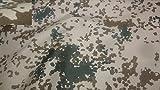 Stoffbook 1100 Cordura Tessuto Esercito Tedesco Camuffamento Deserto Castagna Scura, C524