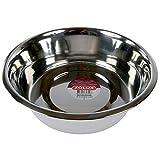 Zolux - Ecuelle / Bol / Gamelle en Inox de 25 cm / 2.8 litre pour chiens / animaux de compagnie