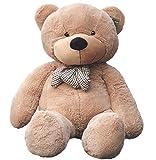 Joyfay Marca oso de peluche 100 - 200 cm gigante de la muñeca de juguete suave de la felpa de peluche oso de peluche de juguete oso peluche gigante peluches gigantes osos de peluche gigantes (160 cm, Marrón)