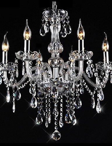 DXZMBDM® putian TM Kronleuchter 6 Lichter Silber vintage in kristall Funktion , white-220-240v -