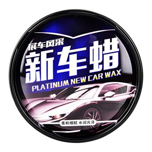 CARTEY Car Carnauba Wachs Versiegelung Auto Paste Wax, Wachskit Car Wax Care, wasserdichte Filmbeschichtung Hartwachs-Reparaturlack Zero Flecken Entfernen - 180g