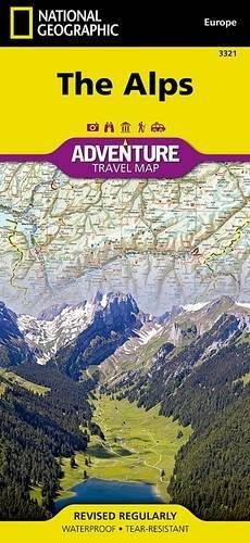 Alps: Travel Maps International Adventure Map