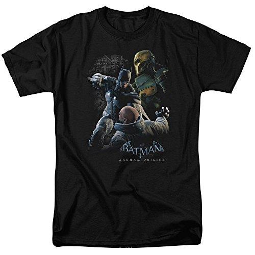 s DC Comics Punch T-Shirt für Erwachsene - Schwarz - Klein ()