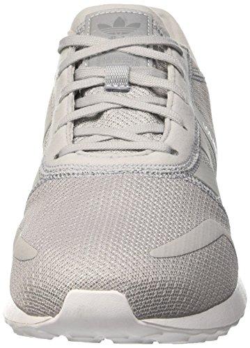 adidas Los Angeles, Scarpe da Ginnastica Uomo Grigio (Clonix/Clonix/Ftwwht)