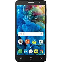 Alcatel Pop 4 PLUS Smartphone - 4G, 16GB, Dual SIM, Argento [Italia]