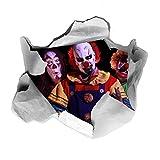 3D Clowns Funny WC-Sitz Aufkleber Transfer Aufkleber Badezimmer AOA®