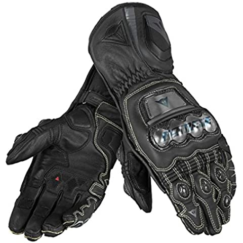 Dainese-Guantes Dainese FULL METAL D1 negro y negro - Noir Talla:extra-large