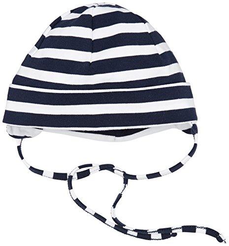 Sterntaler Baby - Jungen Mütze Beanie 1501700, Gr. 49, Blau (Marine 300)