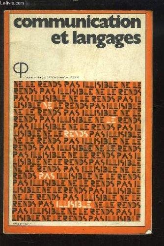 Communication et Langages. N°14 : Mot e...