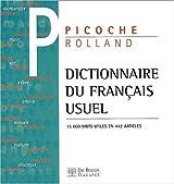 Dictionnaire du français usuel (incluse version CD-Rom)