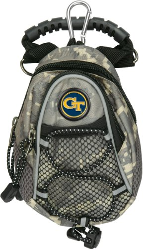 LinksWalker NCAA Georgia Tech Gelb Jacken – Mini Day Pack – Camo