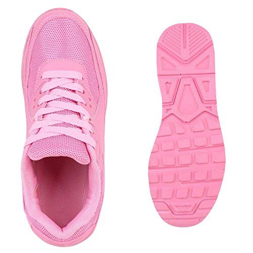 Japado–Chaussures de gymnastique basses femme Pink - Pink