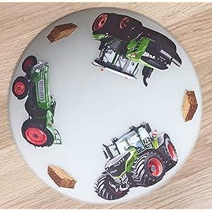 Deckenleuchte/Wandlampe * Traktor Trecker * auch LED – mit/ohne Name