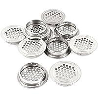 sourcingmap® Tapa del fregadero de acero inoxidable para cocina de diámetro de 1.2 10pcs