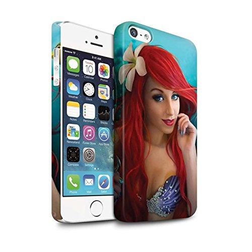 Officiel Elena Dudina Coque / Clipser Matte Etui pour Apple iPhone 5/5S / Poissons d'Or Design / Agua de Vida Collection Le Crochet