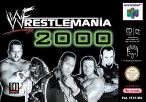 Wrestlemania 2000, gebraucht gebraucht kaufen  Wird an jeden Ort in Deutschland