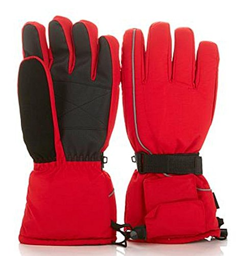 Hot Headz Battery-Operated Heated Gloves - Red