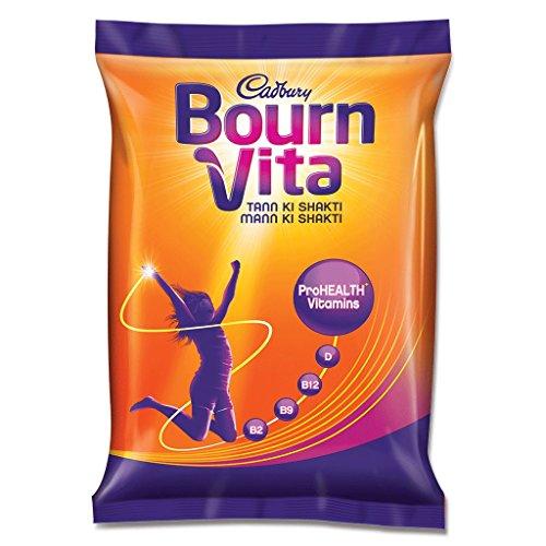 Cadbury Bournvita Pro-Health Chocolate Health Drink, 75 gm Refill Pack