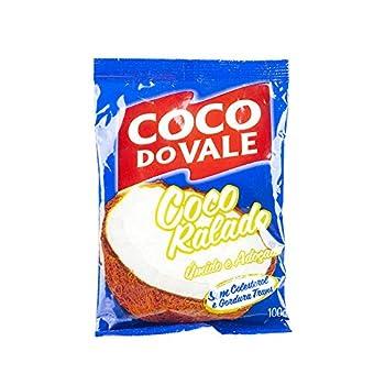 Noix de coco râpée sucrée, pack 100g. - Coco Ralado Adoçado COCO DO VALE 100g